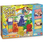 Goliath Super Sand Safari sæt med farvet magisk sand