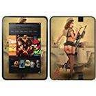 Diabloskinz Vinyl Adhesive Skin/Decal/Sticker for 7 inch Kindle Fire HD (2012) - Pin-Up Holly