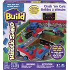 Spin Master Kinetic Sand Build Crash 'em Cars