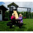 Kjellerup AS Homeshop Rundbænk - Børn - Sortmalet - Plads til 8 børn