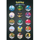 GB Eye Pokemon Pokeballs FP3828