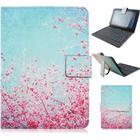 Samsung galaxy tab pro 8.4 läderfodral med motiv - blomning