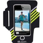 Nathan Sports SuperSonic 2 for iPhone 5 Armband - Black/Lemon Tonic