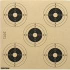 Skydeskiver til 10 meter skydning, 5 plet