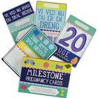 Milestone Graviditetskort - Dansk - 30 stk - OneSize - Milestone Tilbehør