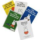 Milestone Miffy Babykort - Det Første År - 30 stk - OneSize - Milestone Tilbehør