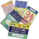 Milestone Graviditetskort - Engelsk - 30 stk - OneSize - Milestone Tilbehør