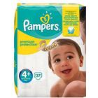 Pampers Premium Protection Size 4+, 9kg-18kg, 37 Nappies