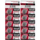 Maxell CR2032 Lithium 3V 10-pack