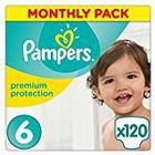 Pampers Premium Protection, 120 Nappies 15+ kg - Size 6