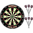 Winmau Pro SFB Dartskive + 2 Harrows Assassin