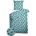 Nordisk tekstil Baby - Påslakanset - Night & Day - SoveTrine Turkos  - 70x100 cm