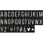 A Little Lovely Company Monochrome Letter Set Lightbox Special Lamps
