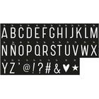 A Little Lovely Company Monochrome Letter Set Lightbox Speciallampe
