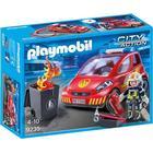 Playmobil Brandmand med bil 9235