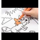 COLOR KIDS malebog med magiske mønstre