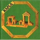 Kapla, book no. 3 Green: simple construction works