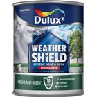 Dulux Weathershield Exterior Gloss 750Ml - Highland Green