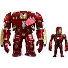 Hot Toys Hulkbuster og Iron Man Mark XLIII Artist Mix Bobble-Heads