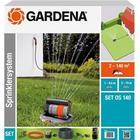 Gardena Complete Set With Oscillating Pop-up Sprinkler OS 140m²