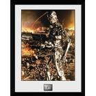Framed Collectors Print - Film - Terminator 2 Endo - Merchandise