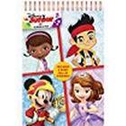 Disney Junior Scribble Pad, Red, A5