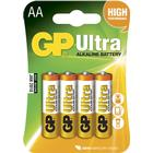 GP Batteries 15AU AA LR6 Ultra 4-pack