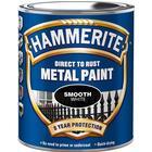 Hammerite Smooth Metalmaling Hvid 0.75L