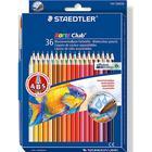Staedtler Norris Club Watercolors Colored Pencil 36-pack