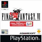 Begagnat PS1 Final fantasy VI (begagnad)