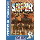 Begagnat Sega Mega Drive Street Fighter II (begagnad) SAKNAR MANUAL