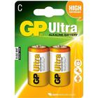 GP Batteries 15AU Lr 14 C Ultra 2Pack