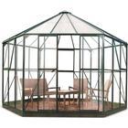 Halls Atrium 9m² Aluminium Glas