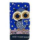 JUJEO Adorable Owl Stars Leather Wallet Case with Stand for Sony Xperia Z1 Compact D5503