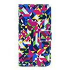 JUJEO Seamless Geometric Pattern Magnetic Leather Stand Case for Sony Xperia Z1 Compact D5503