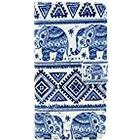 JUJEO Elephant Geometric Pattern Wallet Leather Stand Case for Sony Xperia Z1 Compact D5503