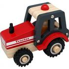 ImageToys Wooden Tracktor with Rubber Wheels 2438