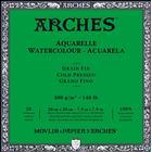 Arches Akvarellblock Kallpressad Arches 300g