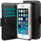 Melkco Mini PU Wallet Book Clear Case (iPhone 5/5S/SE)
