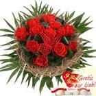 Blumenfee Blumenstrauß Rosentraum - Rote Rosen Pur