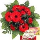 Blumenfee Blumenstrauß Red Power - Blumenversand