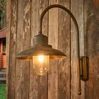 Moretti Casale - en udendørsvæglampe med charme