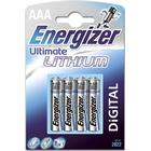 Energizer Ultimate AAA (4 pcs)