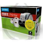 Dymo LabelWriter 450 etikettskrivare + 3 etikettrullar