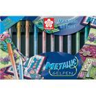 Sakura Metallic Gel Pen 10-pack