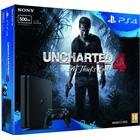Sony PlayStation 4 Slim 500GB - Uncharted 4