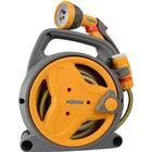Hozelock 4 x Pico Reel With Hose/Fittings Spray Gun 10M