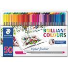 Staedtler Triplus Fineliner Color Pen 50-pack