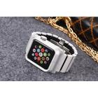 Apple Watch 42mm Apple Watch 42 mm Lunatik Epik med Aluminiumarmband - Silver