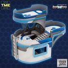 TME - 3 Platform Curved Building